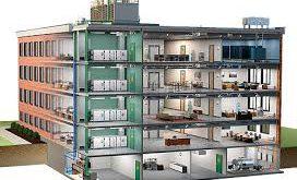 تاسیسات تهویه مطبوع در ساختمان