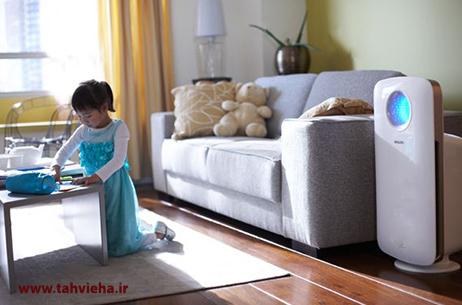 مزایای خرید دستگاه های تصفیه هوا